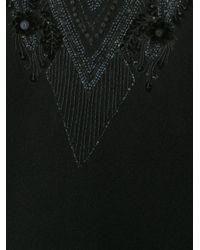 Sally Lapointe - Black Fluted Hem Dress - Lyst