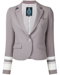 Guild Prime - Brown Banded Sleeve Jacket - Lyst
