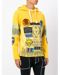 Blood Brother - Yellow Wednesday Hoodie for Men - Lyst