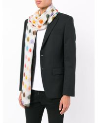 Faliero Sarti | Multicolor Polka Dot Scarf for Men | Lyst