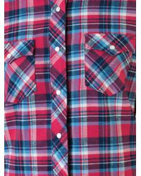 Guild Prime - Red Classic Plaid Shirt - Lyst