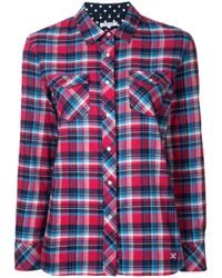 Guild Prime - Red Classic Plaid Shirt - Lyst