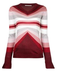 Marco De Vincenzo | Multicolor Knitted V-neck Sweater | Lyst
