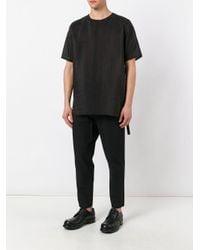 Damir Doma | Black Elongated T-shirt for Men | Lyst