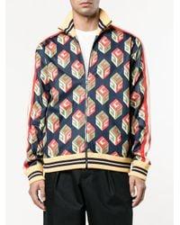 Gucci - Multicolor 'wallpaper' Technical Jacket for Men - Lyst