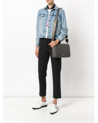 Love Moschino | Gray Quilted Shoulder Bag | Lyst