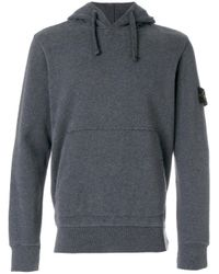 Stone Island | Gray Classic Hoodie for Men | Lyst