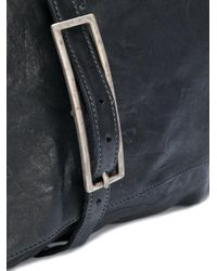 Incarnation - Black Buckled Messenger Bag for Men - Lyst