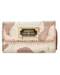 As2ov | Pink Distressed Wallet | Lyst