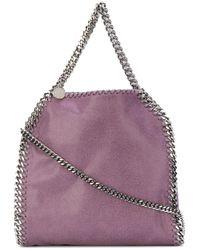 Stella McCartney - Purple Mini Falabella Tote - Lyst
