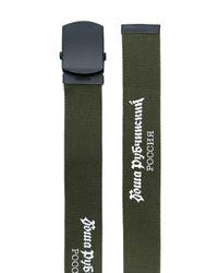 Gosha Rubchinskiy - Green Logo Print Belt for Men - Lyst