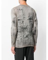 Avant Toi | Gray Crew Neck Sweater for Men | Lyst