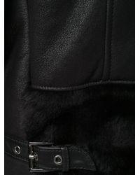 Giorgio Armani - Black Classic Biker Jacket for Men - Lyst