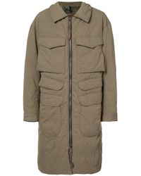 Ziggy Chen | Natural Oversized Pocket Coat for Men | Lyst