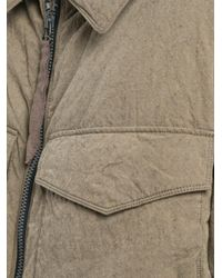 Ziggy Chen - Natural Oversized Pocket Coat for Men - Lyst
