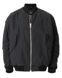 Represent Black Essential Bomber Jacket for men