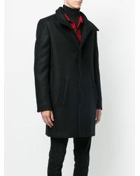 Saint Laurent - Black Classic Coat for Men - Lyst