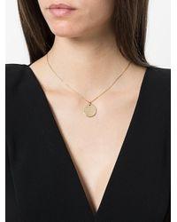 Anissa Kermiche - Metallic Disc Pendant Necklace - Lyst