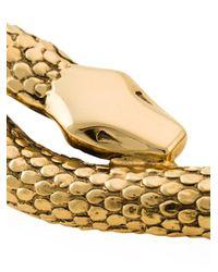 Aurelie Bidermann - Metallic 'tao' Snake Necklace - Lyst