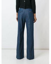 Marc Jacobs - Blue 'bowie' Denim Trousers - Lyst