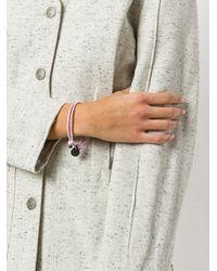 Bottega Veneta - Multicolor Intrecciato Bracelet - Lyst