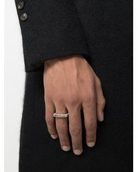 Parts Of 4 - Metallic Sistema Ring for Men - Lyst