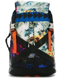 DIESEL - Multicolor Patterned Backpack for Men - Lyst