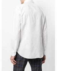 Etro - White Classic Curved Hem Shirt for Men - Lyst