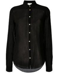 Forte Forte | Black Classic Shirt | Lyst