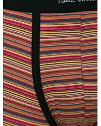Paul Smith - Red Striped Boxers for Men - Lyst