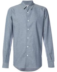 Éditions MR - Blue Chambray Shirt for Men - Lyst
