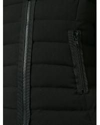Guild Prime - Black Ruffle Trim Puffer Jacket - Lyst