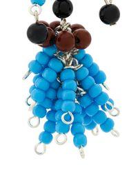 Marni - Blue Beaded Earrings - Lyst