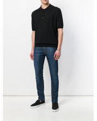 Laneus - Black Polo Shirt for Men - Lyst