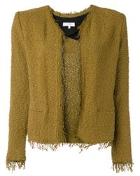 IRO - Green Boucleé Jacket - Lyst