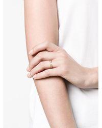Anton Heunis - Metallic Diamond Heart Ring - Lyst