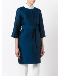 P.A.R.O.S.H. - Blue Picabia Coat - Lyst