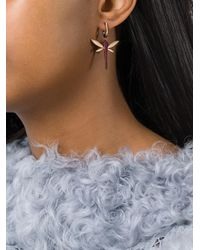 Anapsara - Metallic 'dragonfly' Earrings - Lyst