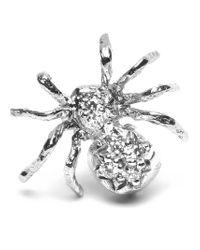 Wouters & Hendrix - Metallic Diamond Spider Earring - Lyst
