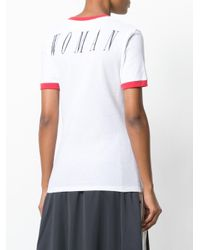 Off-White c/o Virgil Abloh - White Butterfly T-shirt - Lyst