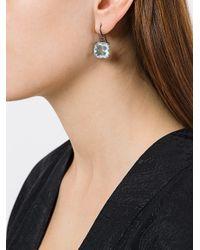 Bottega Veneta - Green Stoned Earrings - Lyst