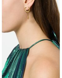 Givenchy - Metallic Arrow Drop Earrings - Lyst