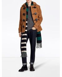 Burberry - Brown Plymouth Duffle Coat - Lyst