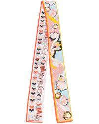 Emilio Pucci - Multicolor Multi-print Neck Scarf - Lyst