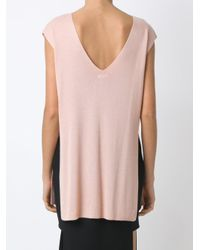 Osklen - Pink Side Slits Top - Lyst