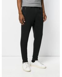Michael Kors - Black Gathered Track Pants for Men - Lyst