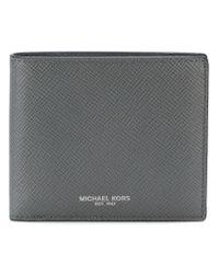 Michael Kors - Gray Logo Wallet for Men - Lyst