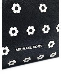 MICHAEL Michael Kors - Black Raven Large Shoulder Bag - Lyst