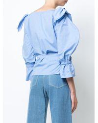 Rejina Pyo - Blue Michelle Poplin Shirt - Lyst
