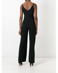 A.L.C. - Black Sleeveless Jumpsuit - Lyst